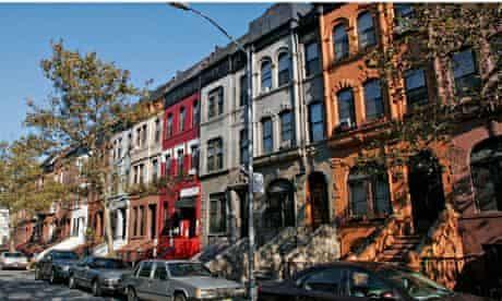 Harlem Brownstones, in Manhattan, New York