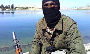 'Former Arsenal player' who filmed Syria jihad video