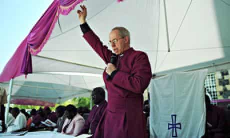 Justin Welby South Sudan
