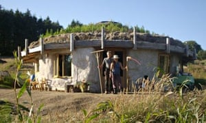 The Lammas project ecovillage at Tir y Gafel, in North Pembrokeshire, Wales.