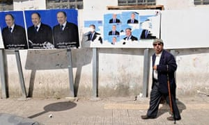 Algeria election posters