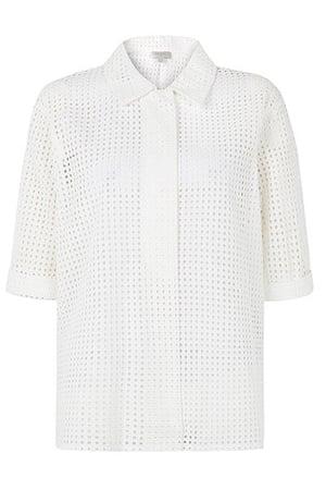 Fashion wish list: white short sleeved shirt