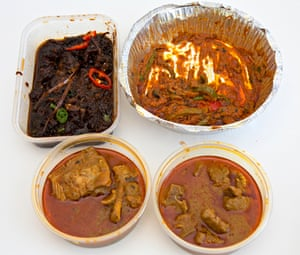 Four curries