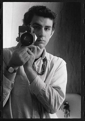 Danny Lyon: Self-portrait with Nikon F Reflex