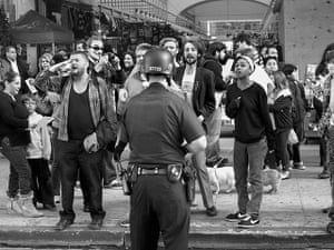 Danny Lyon: Occupy demonstration on Broadway, Los Angeles