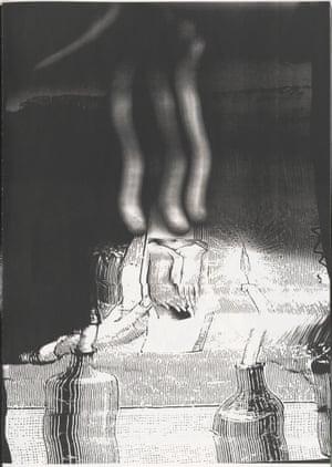 Daphne (ΔΑΦΝΗ) 2004 Artist's book, page: 16 5⁄16 x 11 7/16″ (41.5 x 29 cm)