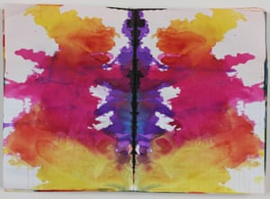 Untitled (Rorschach) (Ohne Titel (Rorschach)) c. 1999 Colored ink in bound notebook, 192 pages