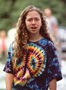Chelsea Clinton in 1994.