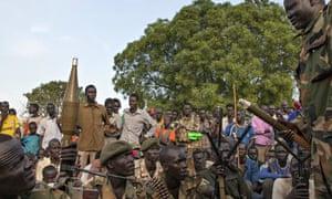 South Sudan White Army members