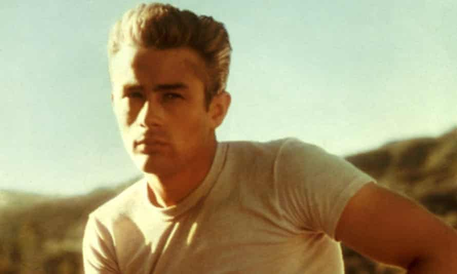 James Dean during production of Rebel Without a Cause, 1955