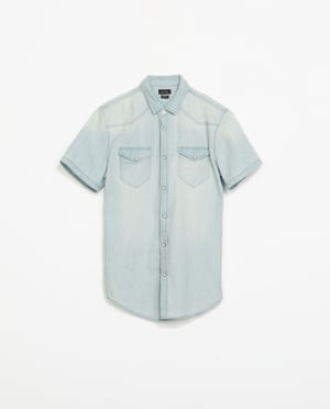 Denim shirt £22.99 zara.com - James Dean Fashion