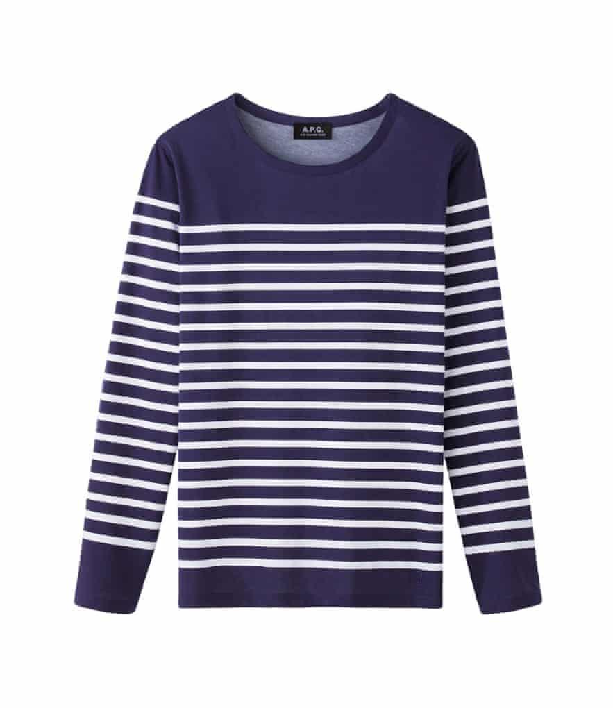 Sailor stripe top £83 apc.fr - James Dean Fashion