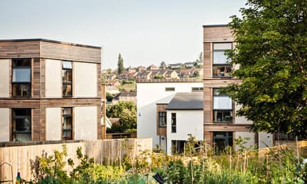 Lilac co-housing project in Bramley, Leeds