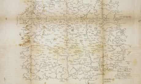 William Blake map