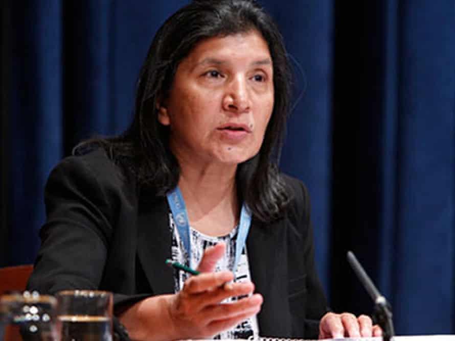 United Nations of UN special rapporteur on violence Rashida Manjoo.