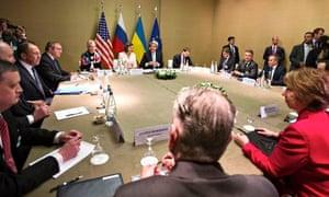 Geneva talks on Ukraine crisis