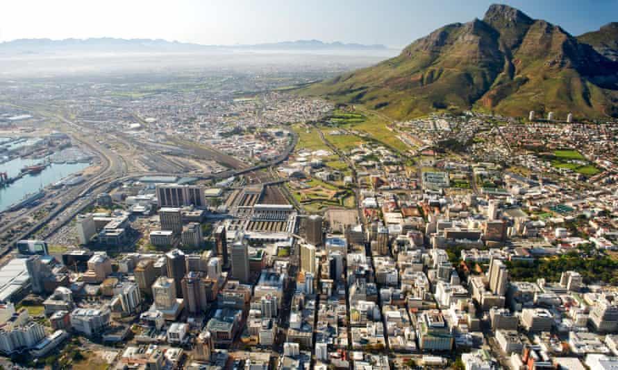 Cape Town's central business district.