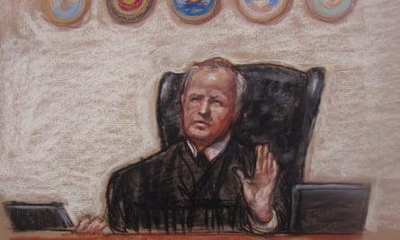 Guantanamo trial judge