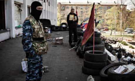Pro-Russian militants