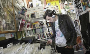 Record Store Day: out with the CD racks, in with the vinyl