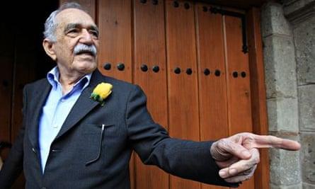 The writer Gabriel García Márquez