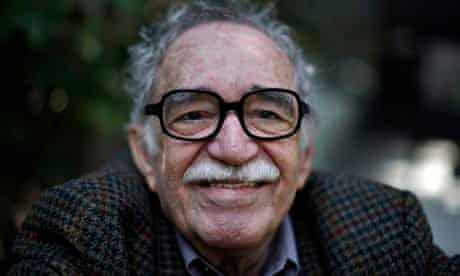 Colombia's Nobel literature prize laureate Gabriel Garcia Marquez at his house in Mexico City.