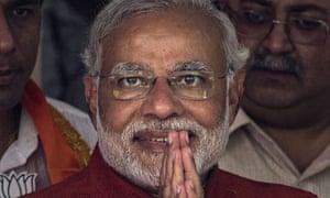 Narendra Modi, leader of India's Bharatiya Janata Party