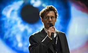Johnny Depp as Will Caster in Transcendence