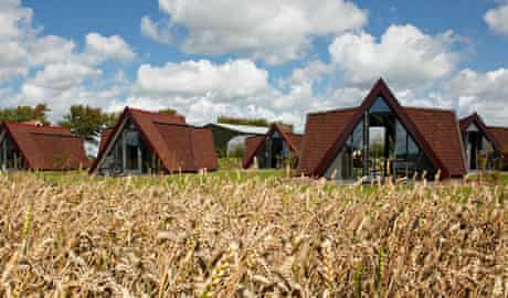 Restinn is a network luxury rural huts for cyclists around the Netherlands.