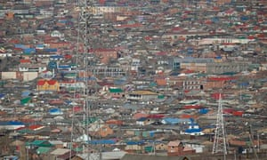 The Dari Ekh ger district north of Ulan Bator. Photograph: Dan Chung for the Guardian