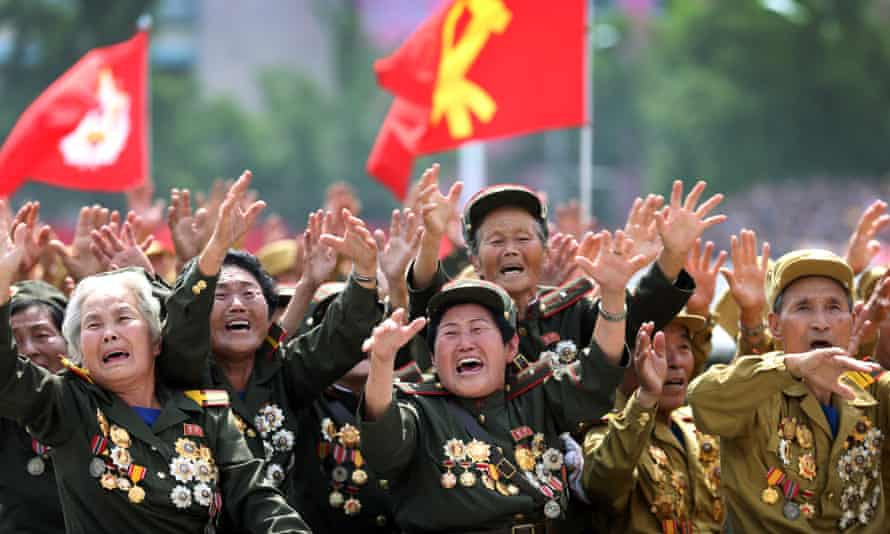 North Korea war veterans