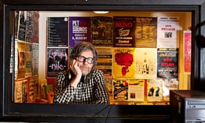 Hunter Smith, owner of Jumbo Records in Leeds