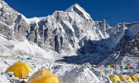 Tents at Everest Base Camp,