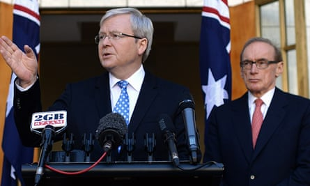 Bob Carr and Kevin Rudd