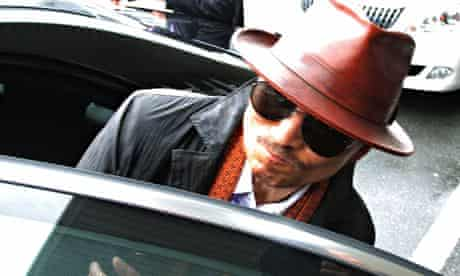 Kenichi Shinoda, the boss of Japan's largest yakuza gang, the Yamaguchi-g