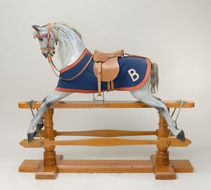 Rocking horse that Princess Elizabeth and Princess Margaret played with