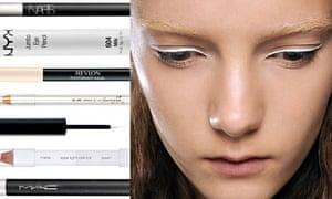 White eye liners