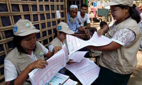 Burma census