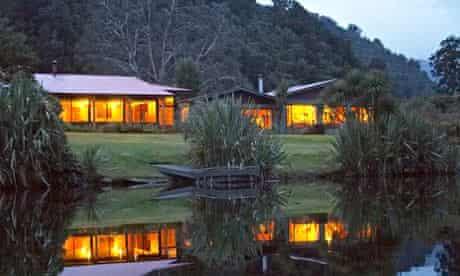 Eco lodge New Zealand
