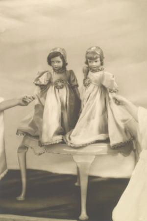 Two Parisian dolls belonging to the Princesses Elizabeth and Margaret