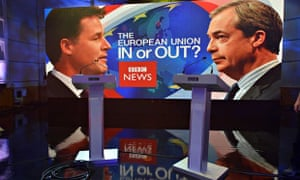 Nick Clegg and Nigel Farage second debate