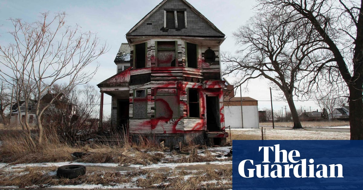 The Death Of A Great American City Why Does Anyone Still Live In Detroit Cities The Guardian
