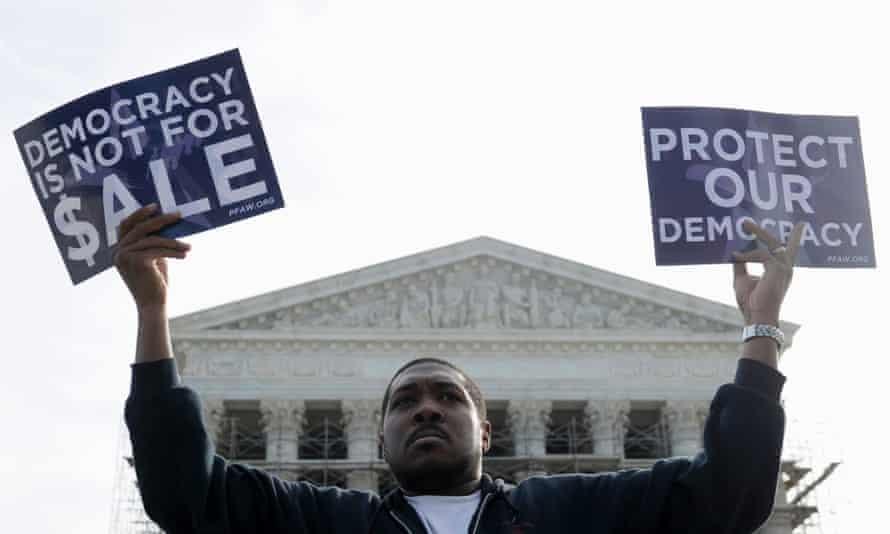 Campaign finance reform, supreme court.