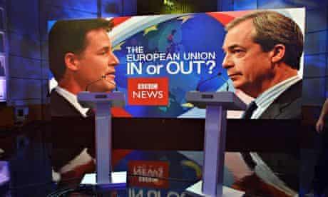 Farage and Clegg debate