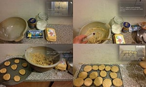 Zoë Corbyn makes peanut butter cookies