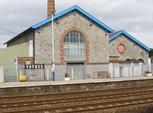 Atmospheric engine house at Totnes station