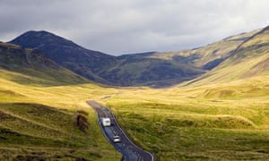 The Grampian Mountains, Scotland