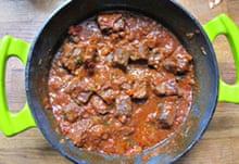 Louis Szathmáry's goulash
