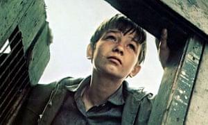 David Bradley in Kes, 1969