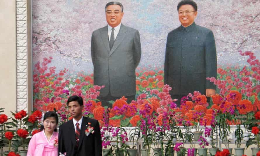 North Korea couple